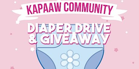 Lexington Diaper Giveaway! tickets
