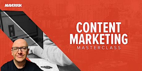 Content Marketing Masterclass tickets