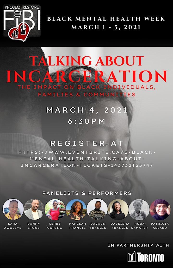 Black Mental Health: Talking About Incarceration image