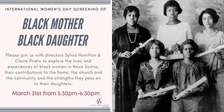 "International Women's Day Film Screening: ""Black Mother Black Daughter"" tickets"