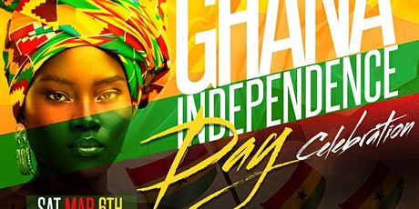 GHANA's 64TH INDEPENDENCE CELEBRATION AT LUV2 LOUNGE tickets