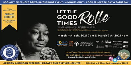 """""""Let the Good Times Rolle"""" tickets"""