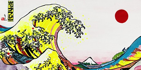 Pop the Wave! Hokusai Wave pop art workshop with Rie Takeda tickets