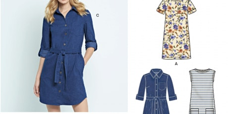 Beginners Sewing: Sew a Shirt Dress - Bring your own fabrics! ( 4 Sessions) tickets