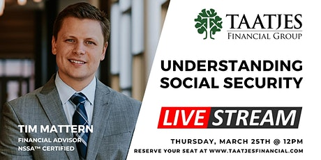 Understanding Social Security - LIVESTREAM tickets