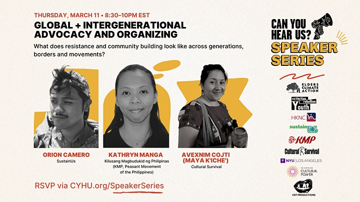 Can You Hear Us? Speaker Series image