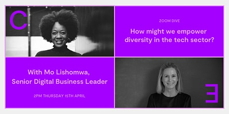 How might we empower diversity in the tech sector? tickets