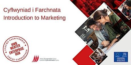 Cyflwyniad i Marchnata | Introduction to Marketing tickets
