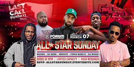 ALL STAR SUNDAY Feat. IBREASE x DJ BERN x CHRIS MARS B tickets