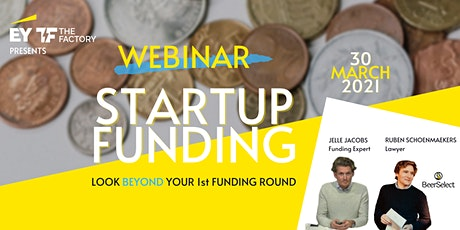 Webinar Startup Funding: Look beyond your first funding round tickets