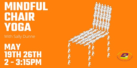 Mindful Chair Yoga with Sally Dunne via Zoom - 2 week class tickets