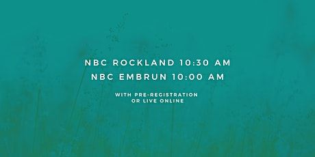 Rockland - Sunday Service 10:30 AM (March 7th, 2021) billets