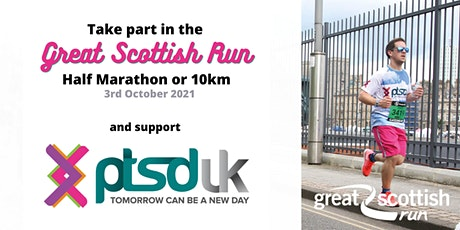 Great Scottish Run - 10km and Half Marathon for PTSD UK tickets