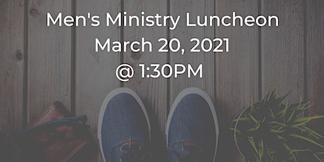 Men's Ministry Lunch tickets