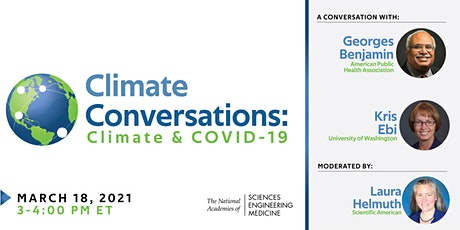 Climate Conversations: Climate & COVID-19 tickets