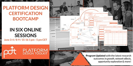 The Online Platform Design Certification Bootcamp - new format! tickets