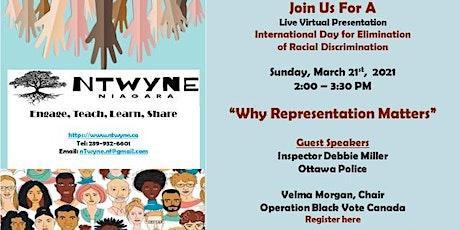 nTwyne Niagara: Why Representation Matters tickets
