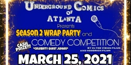 Underground Comics of Atlanta Comedy Competition & Wrap tickets