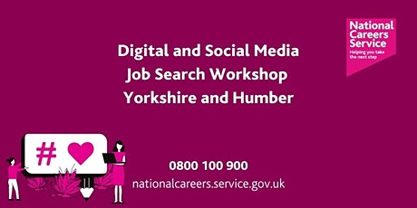 Digital and Social Media Sector Workshop - Leeds, York and North Yorkshire tickets