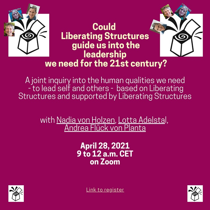 Could Liberating Structures guide us into the leadership we need? image