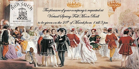 Virtual Spring Full Moon Ball tickets