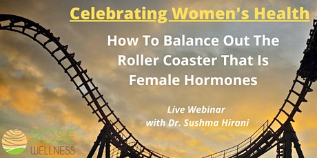 """How To Balance Your Hormones Naturally"" tickets"