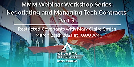 MMM Webinar Workshop: Negotiating and Managing Tech Contracts Part 3 tickets