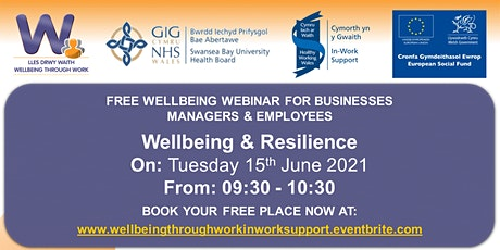 Wellbeing and Resilience tickets