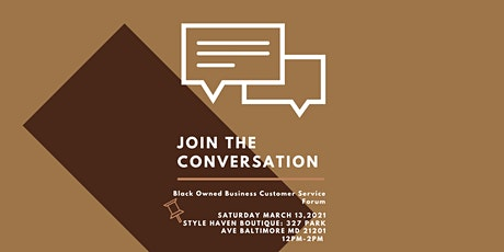 Black-Owned Business Customer Service Forum tickets