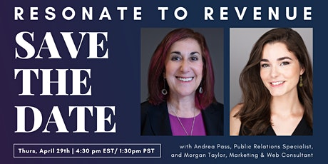 Resonate To Revenue Expert Marketing Panel tickets