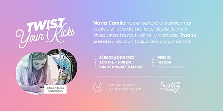 Twist Your Kicks entradas