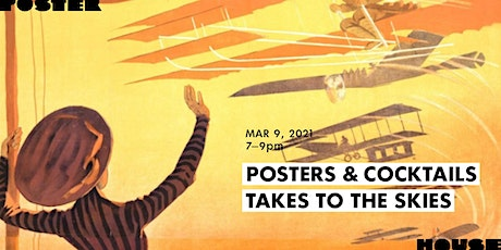 Posters & Cocktails Takes To The Skies tickets