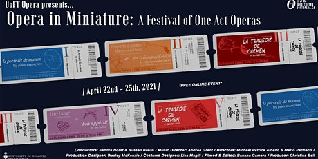 Opera in Miniature: A Festival of One Act Operas tickets
