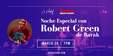 Noche Especial con Robert Green (Barak) tickets