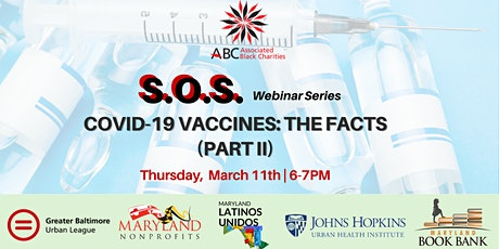S.O.S Webinar Series: COVID-19 Vaccines | The Facts (Part II) tickets