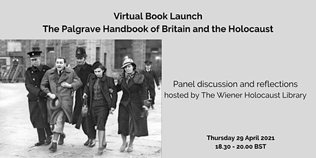 Virtual Book Launch: The Palgrave Handbook of Britain and the Holocaust tickets