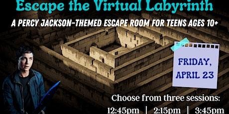 Escape the Virtual Labyrinth tickets