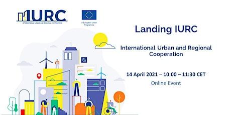 Landing IURC – International Urban and Regional Cooperation tickets