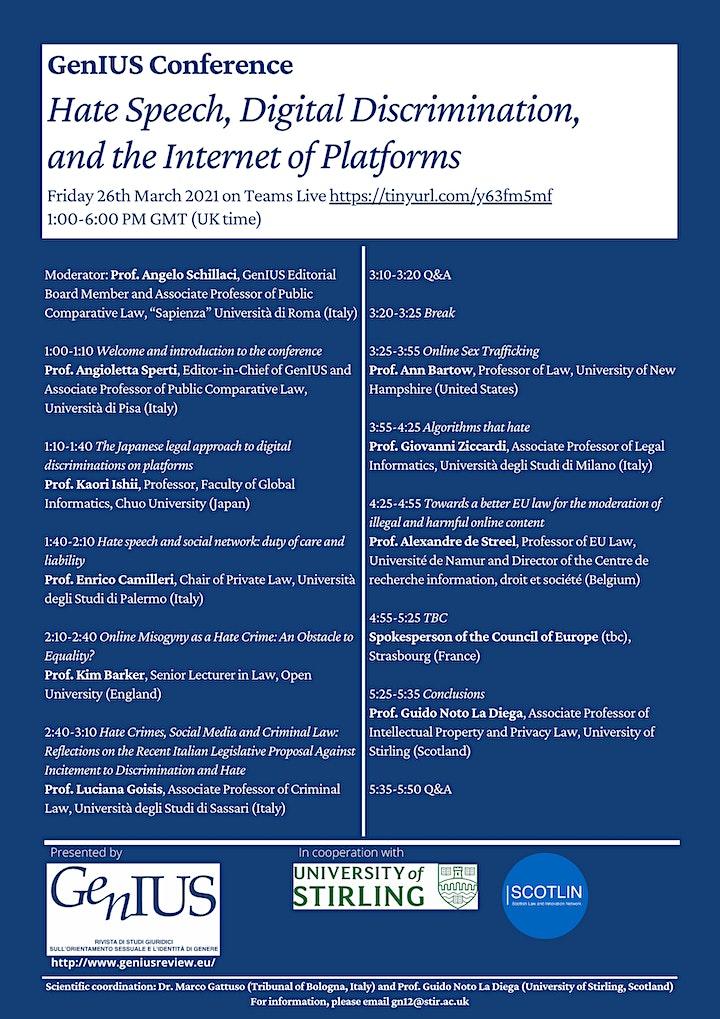Hate Speech, Digital Discrimination, and the Internet of Platforms image