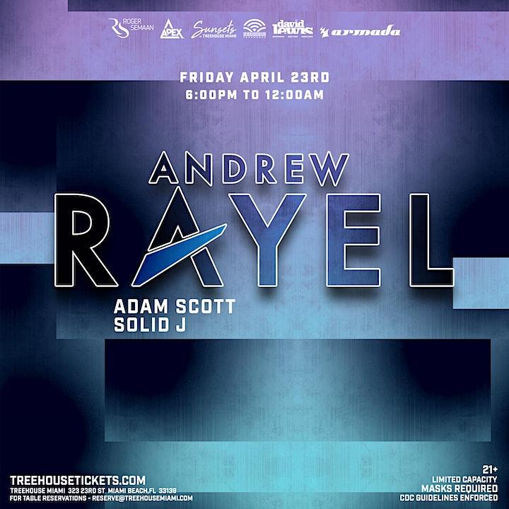 ANDREW RAYEL @ Treehouse Miami image