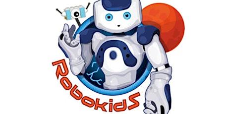 For primary schools: Robokids activity tickets