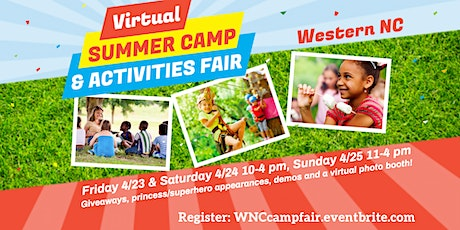 WNC Camp & Activities Fair (Virtual) tickets
