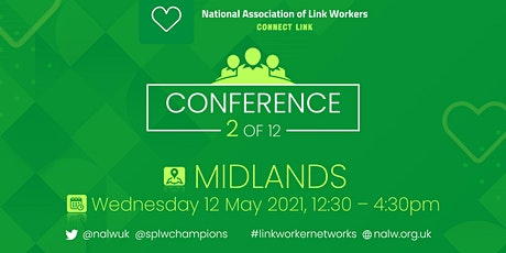 Social Prescribing Link Workers Conference-Midlands tickets