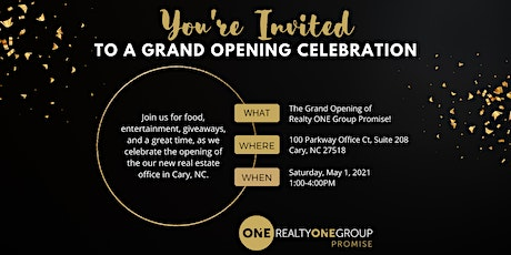 Realty One Group Promise Grand Opening Celebration tickets