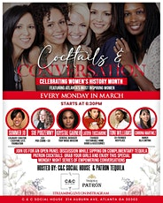 Cocktails & Conversation : Celebrating Women's History Month tickets