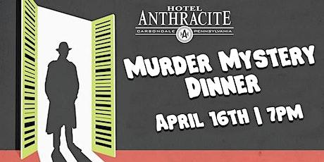 Murder Mystery Dinner at Hotel Anthracite tickets