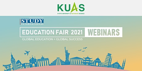 Post fair FREE Webinar: Kyoto University of Advanced Sciences tickets