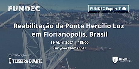 Reabilitação da Ponte Hercílio Luz em Florianópolis, Brasil ingressos