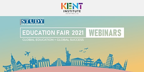 Post fair FREE Webinar: Kent Institute, Australia tickets