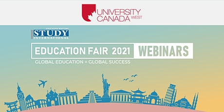 Post-Fair FREE Webinar:  University Canada West, Toronto tickets